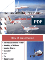 Indian Airline Industry
