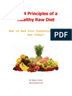 4 Principles Healthy Raw Diet
