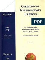 Hernandez Hector - La Exclusion de Prueba Ilicita