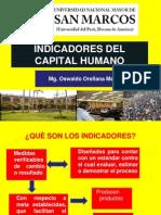 INDICADORES DEL CAPITAL HUMANO