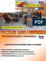 Corso Radio118 Ambulanze