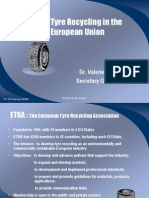 Tire Recycling in the EU