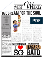 WHM Weekly Newsletter - 3 October 2011