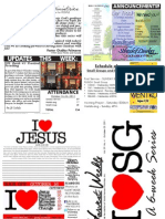 WHM Weekly Newsletter - 23 October 2011
