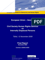 Eu Georgia Final Report Idps Nov 2009 En