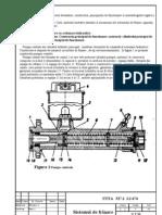 Sistemul de frinare cu actionare hidraulica
