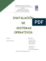 Micro Clase de Instalación de Sistemas Operativos