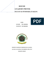 Resume Jasa Konsultan Dan Studi Kelayakan