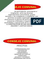 Consejo Comunal Introduccion