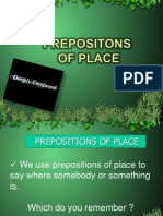 Prepositons of Place