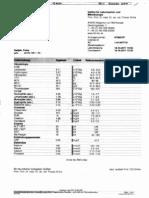 Blut-Nieren-und Abstoßungswerte Okt. 2011