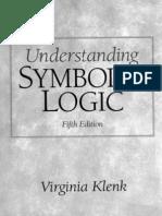Virginia Klenk - Understanding Symbolic Logic