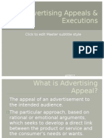 Advertising Appeals & Executions