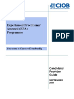 FINAL Candidate Provider Guide - September 2011