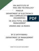 TQM 2marks and 16 Marks Sathya Banu D (1)