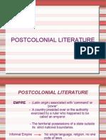 Post Colonial Literature(1)