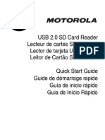 Sd Card Reader Qsg