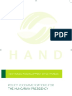 Hand Policy Recommendations-En