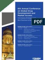 DIA Conference - Agenda