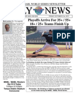 MSBL World Series Daily News - Oct 21 2011