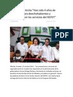 18-Octubre-2011-Nota-de-Yucatán-Han-sido-4-años-de-beneficios-para-deechohabientes-y-ciudadanía-con-los-servicios-del-ISSTEY