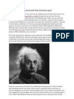So What is the Big Deal With This Einstein Guy