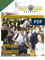 2016 Applicant Handbook