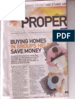 Buy homes in group saves money