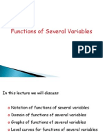 Fn of Two Variables 1