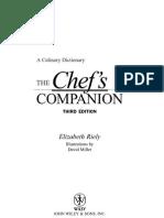 The Chef's Companion, Third 3Ed (mAnaV)