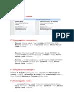 Exercícios Outlook 2007 - Easy