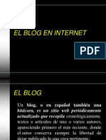 El Blog en Internet