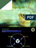 Türkiye ve dünya bitki örtüsü GENEL SUNU