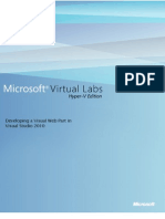 Developing a Visual Web Part in Visual Studio 2010