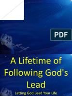 A Lifetime of Following God's Lead