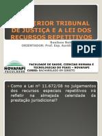 O SUPERIOR TRIBUNAL DE JUSTIÇA E A LEI