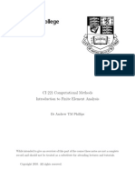 CI221 Finite Element Notes