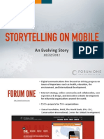 2011-10-22 Storytelling on Mobile (@ NPR DUXcamp)
