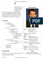 Mark Zuckerberg - Wikipedia, The Free Encyclopedia