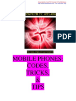 Mobile Phones - Codes CTips Tricks