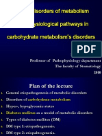 Carbohydrate Metabolism Disorders Stom 10-11