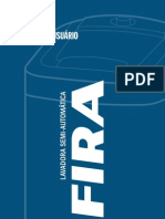 Manual Lavadora Safira 9KG Semi Automática Branca 110v - Latina (2205827)