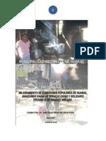 Proyecto omedores Huaraz