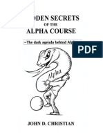 Hidden Secrets of the Alpha Course Office XP
