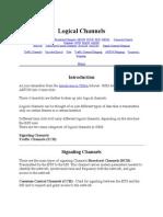 2G Logical Channels