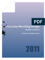 Precision Marching Design-Contract