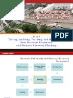 Test Auditing Training BCP DRP Sesi4