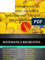 MATEMATICA RECREATIVA