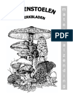 werkbladen paddenstoelen 2007