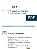 ACCA F2L2 Production Cost